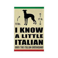 Little Italian - Greyhound Magnets (10 pack)