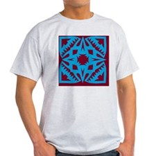 teal-tile1 T-Shirt