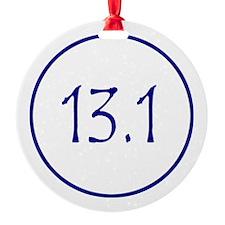 Blue 13.1 Ornament