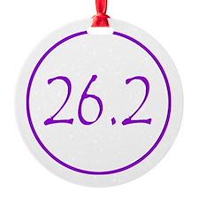 Purple 26.2 Ornament