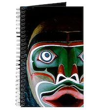 Thunderbird Park. Native totem poles locat Journal