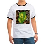Yellow Flowers On Green Leave Ringer T
