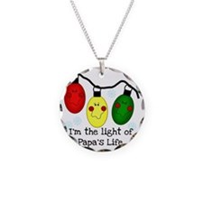 lightpapalife Necklace Circle Charm
