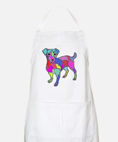NEON JACK RUSSELL TERRIER BBQ Apron