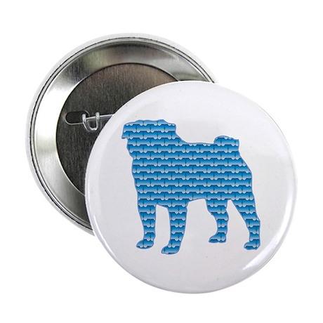 Bone Pug Button