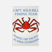 cwb-fishing-panama-red Rectangle Magnet