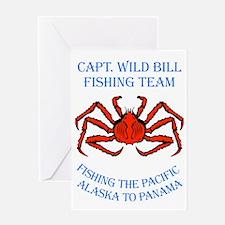 cwb-fishing-panama-red Greeting Card