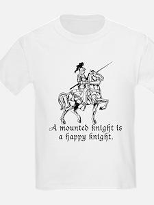 Mounted Knight Kids T-Shirt