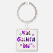 g_d_1 Square Keychain