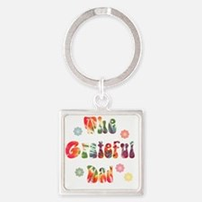 g_d Square Keychain