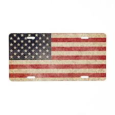 US Faded Shoulder Aluminum License Plate