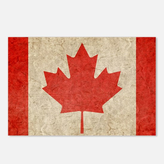 Canada Faded Shoulder Postcards (Package of 8)