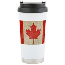 Canada Faded Shoulder Travel Coffee Mug