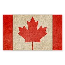 Canada Faded Shoulder Decal