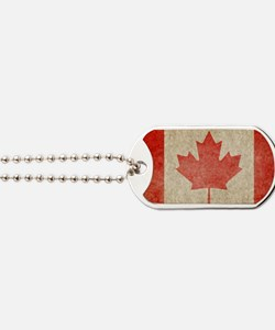 Canada Faded Coin Dog Tags
