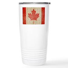 Canada Faded Coin Travel Mug