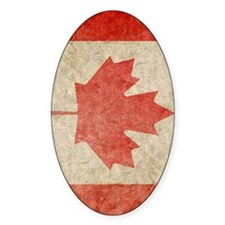 Canada Faded iPad S Decal