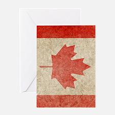Canada Faded iPad S Greeting Card