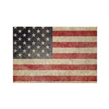 US Faded Coin Rectangle Magnet