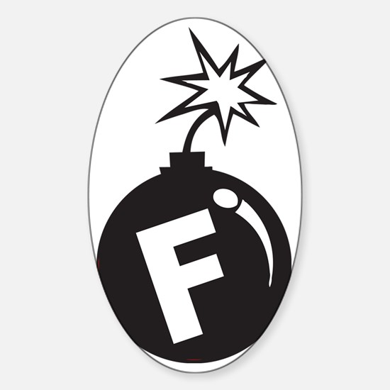 1(11) Sticker (Oval)
