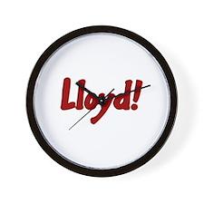 Lloyd! Wall Clock