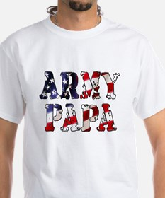Army Papa Gray T-Shirt