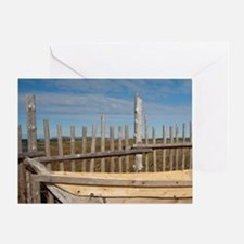 L'Anse Aux Meadows. Archaeological s Greeting Card