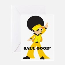 SAULGOOD DISCO Greeting Card