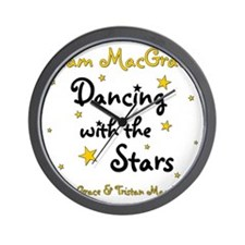 DWTS-NancyGrace Wall Clock