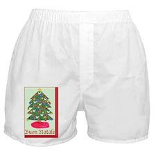 Buon Natale, Italian Merry Christmas  Boxer Shorts