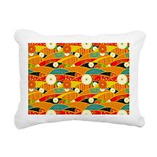 Jap OF Shoulder Rectangular Canvas Pillow