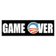 Game Over Obama Bumper Stickers