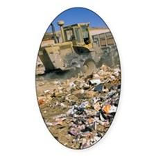 Sanitary landfill. Decal