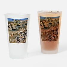 Sanitary landfill. Drinking Glass