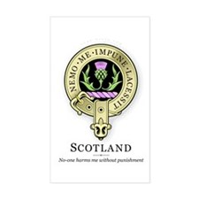 Order of the Thistle Rectangle Decal
