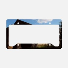 Old Fort Cookhouse License Plate Holder