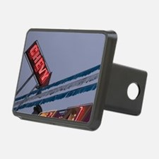 Chevy Car Dealer Neon Sign Hitch Cover