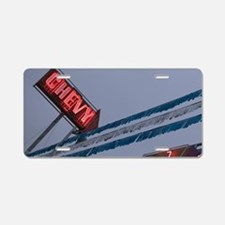 Chevy Car Dealer Neon Sign  Aluminum License Plate
