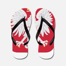Polish Eagle Flip Flops