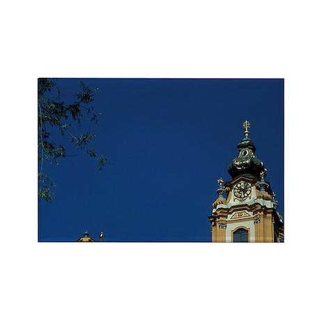 Riverside castle Danube River boa Rectangle Magnet