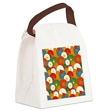 Jap Orange iPad S Canvas Lunch Bag