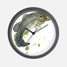 Large Mouth Wall Clock