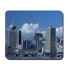 Canada, Vancouver, B.C., skyline from No Mousepad
