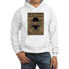 Wanted Dead or Alive Jumper Hoody