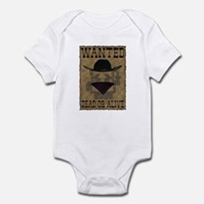 Wanted Dead or Alive Infant Bodysuit