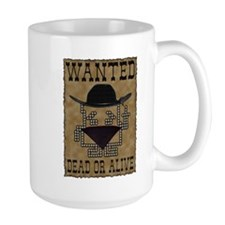 Wanted Dead or Alive Mug