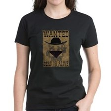 Wanted Dead or Alive Tee