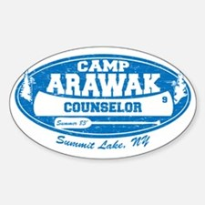 CampArawak Sticker (Oval)