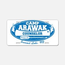 CampArawak Aluminum License Plate