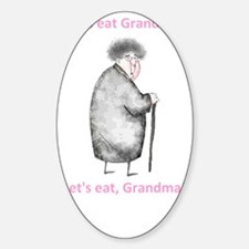 Lets Eat Grandma - BLACK Decal